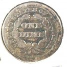 1850 Seated Liberty Dime Good Condition