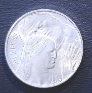 Vatican City Silver 500 Lire Coin KM#131 in 1975 UNC Set   .2953 ASW Mint Set 80