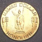 1974 Honolulu Hawaii Dollar Aloha Chamber of Commerce Trade Token BU Kamehameha