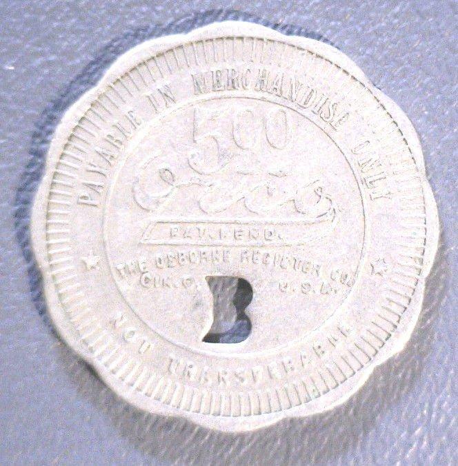 Buffalo SC - Union Buffalo Mills - $5.00 - Company Scrip - F500-Sc-Ni-B-32 - R7