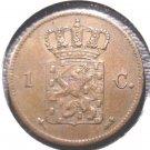 1870 Netherlands Cent coin KM#100  Holland Dutch