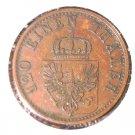 1871 A German States Prussia 3 pfenninge coin  XF  KM#482 120 einen thaler