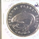 1996 Isle of Man BU Crown Coin Brilliant Uncirculated KM#585 Orca Killer Whale