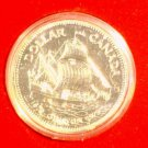 1979 Canada Silver Dollar Bicentennial of  HMS Griffon original mint box  SHIP