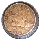 1857 Flying Eagle Cent Good Details Corrosion