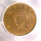 1805 Ireland Half Penny Coin ICG FR2 KM#147.1  HIBERNIA