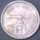 1979 Mexico 1 ounce of pure silver coin Onza de Plata Pura 33.62 grams total wt.