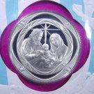 1972 Sterling Silver Proof Medal / Stamp Set Christmas in Bethlehem All Original