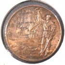 1910 Argentina Copper Medal  100 years of the Argentine Navy  1810-1910 22.8 g