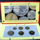 1990 New Zealand BU Coin Collection 6 coins in Original Packaging COA Wholesale