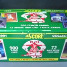 1991 Major League Baseball Collector Set 972 cards in original box Magic Motion