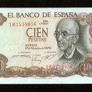 1970 Spain 100 Pesetas Bank Note Pick#152 Crisp Uncirculated  Below WholeSale !