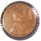 ERROR ! 1944 US Lincoln Wheat Cent Lamination Error !  XF