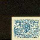 1917 Portugal Banknote 10 Diez Centavos Bronze Pick#95B Crisp Uncirculated    X