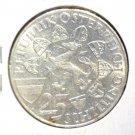 Austria 1959 Silver 25 Schilling Coin  BU .3347 ASW  KM#2884  Erzherzog Johann