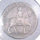 1791 Conder Token  Hull Half Penny  William III on a Horse