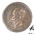 1866 M Italy 10 centesimi coin  KM#115 Vittorio Emanuele II