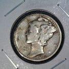 1935 Mercury / Winged Liberty Dime Fine Condition