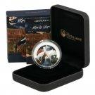 Stork Silver Proof $1 Coin 2013 Kakadu Park Australia .999 Ltd Ed of 2,500 Birds