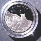 1992 Canada Commemorative Silver Proof 25 cent Coin .925   Alberta COA