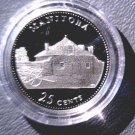 1992 Canada Commemorative Silver Proof 25 cent Coin .925 Silver Manitoba COA
