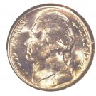 1944 D Jefferson Nickel GEM BU  Brilliant Uncirculated