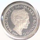 1987 Denmark 10 Kroner Coin  KM#864.2 BRILLIANT UNCIRCULATED Margarethe II