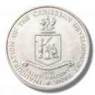 """1970 Saint Vincent  FAO Four Dollar Coin BU KM#13 """"Grow More Food for Mankind"""""""