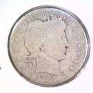 1909 O Silver Barber Quarter About Good Condition Better Date