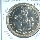 1985 Isle of Man BU Crown Coin Brilliant Uncirculated KM#220 The Queen Mother