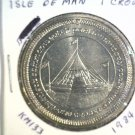 1984 Isle of Man BU Crown Coin Brilliant Uncirculated KM#133 Parliament Conf.