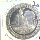1987 Isle of Man BU Crown Coin Brilliant Uncirculated KM#186 Sailboat Freemantle