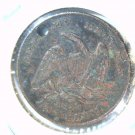 "1872 Greeley and Brown Campaign Token  ""AMNESTY""           Blue Lot"