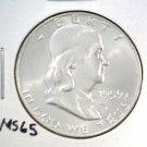 1959-D Franklin Silver Half Dollar Gem Brilliant Uncirculated