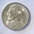 1945 D Silver War Nickel Brilliant Uncirculated BU