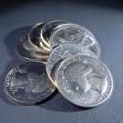 1776-1976   40% Silver Washington Bicentennial Quarters Lot of 8   .5916 Oz ASW