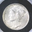 1941 Silver Mercury Dime Winged Liberty Brilliant Uncirculated Great Luster !