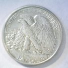 1943 Silver Walking Liberty Half Dollar About Uncirculated AU