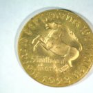 "1923 Germany Notgeld 5 million mark Wiemar Hyperinflation ""Coin""  Horse Schiller"