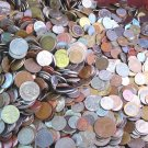 WORLD COINS 25 pounds UNSEARCHED 2250-2750 coins *Explore The World ! Bulk Bag