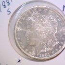 1881 S Morgan Silver Dollar Brilliant Uncirculated BU    #n
