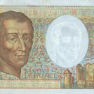 1986 France 200 francs note Very Fine Condition Pick 155a Colorful & Historic !
