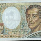 1985 France 200 francs note Very Fine Condition Pick 155a Colorful & Historic !