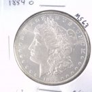 1884 O Morgan Silver Dollar Choice Brilliant Uncirculated BU+