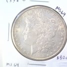 1898 O Morgan Silver Dollar Choice Brilliant Uncirculated BU++