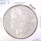 1882 S Morgan Silver Dollar Choice Brilliant Uncirculated BU++