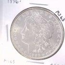 1896 Morgan Silver Dollar Choice Brilliant Uncirculated BU+