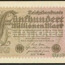 Germany Hyperinflation Note 1923 500 Million Mark Pick 110B Crisp UNC Crucifera