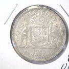 1963 Australia Silver Florin Coin KM#60 UNCIRCULATED .1806 ASW