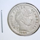 1906 S Barber Silver Dime Very Fine Details CLEANED